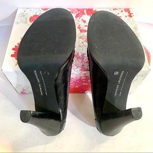 Chinese Laundry Shoes - Black Platform Leather Heels Size 8.5 NWT
